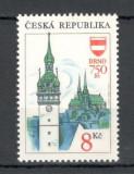 Cehia.1993 Turism-750 ani orasul Brno  XC.6