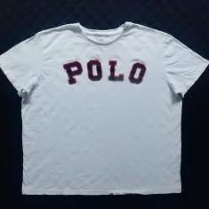 Tricou Polo by Ralph Lauren Custom Fit. Marime L: 62.5 cm bust, 66 cm lungime