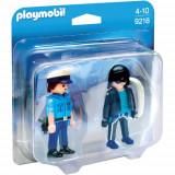 Set 2 Figurine Politist si Hot, Playmobil