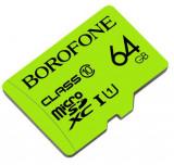 Cumpara ieftin Card Microsd Borofone Tf Sdhc Clasa 10, Capacitate 64gb