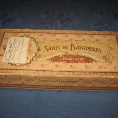 3964-Cutie Savon des Bayaderes- L.Eeckelaers sapun veche de colectie.