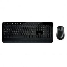 Kit tastatura + mouse Microsoft Wireless Desktop Media 2000 negru