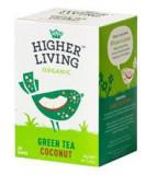 Ceai Verde Cocos Bio 20plicuri Higher Living Cod: 5060319129293