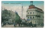 4156 - CERNAUTI, Bucovina, Market - old postcard - unused
