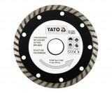 Disc diamantat Turbo 125 mm YATO