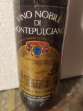 9- VIN NOBILE DI MONTEPULCIANO, DOCG, IL CERRO,  recoltare 1986 cl 75 gr 13, Sec, Rosu, Europa