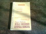 MIHAI EMINESCU. EPOPEEA ROMANA - EUGEN TODORAN