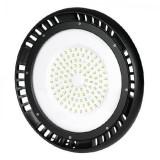 Cumpara ieftin Lampa LED iluminat industrial, 100 W, 1300 lm, 6400 K, lumina alb rece, Negru