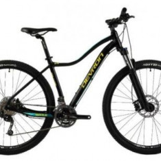 Bicicleta Dama Devron Riddle W3.7, Cadru 18.1inch (Negru)
