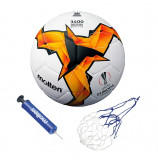 Minge fotbal Molten  - hybrid constructions - UEFA , pompa si plasa incluse