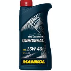 Ulei motor MANNOL Universal 15W40 1 L 23383