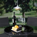 Lampa solara suspendata cu telecomanda