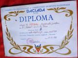 Diploma DACIADA Echipa de fotbal , div C...