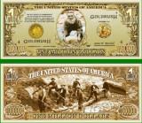 USA 1 Million Dollars Goana dupa aur UNC