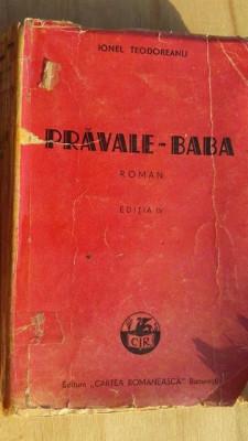 Pravale- baba- Ionel Teodoreanu foto