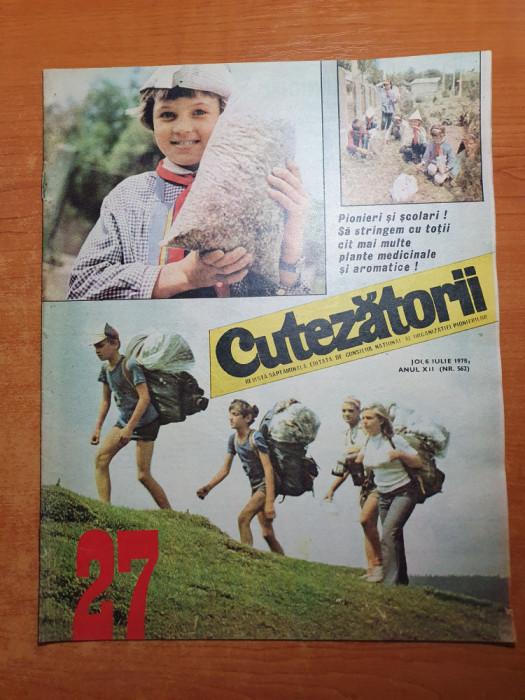 cutezatorii 6 iulie 1978- articol comuna salcia jud mehedinti