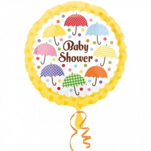 Balon Baby Shower din folie 43cm