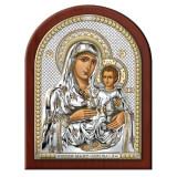 Maica Domnului Ierusalim Argint 17.5×22.5cm Auriu COD: 3034