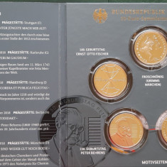Set 5 monede tematice a 20 Euro argint - Germania 2018 - Proof