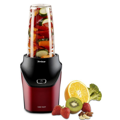 Nutriblender juicer Trisa Energy Boost, 1000 W, cutit cu 6 lame, 25000 rpm foto