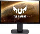 Cumpara ieftin Monitor Gaming VA LED ASUS TUF 23.6inch VG24VQ, Full HD (1920 x 1080), HDMI, Display Port, FreeSync, Ecran curbat, Pivot, 144Hz, 1ms (Negru)