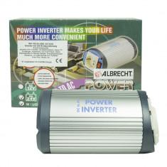 Resigilat : Invertor de tensiune cu USB Albrecht 150W 24V Cod 47870
