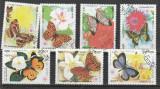 Fauna ,fluturi ,Cambogia., Stampilat