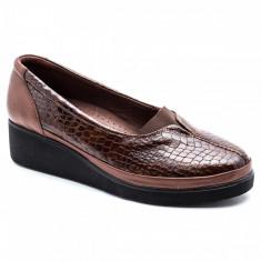 Pantofi dama CASPIAN Maro Croco