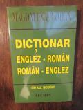 Dicționar român-englez, englez-român de uz școlar - Magdalena Damian