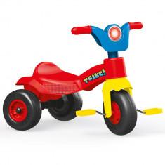 Tricicleta colorata pentru copii Dolu