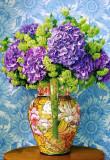 Puzzle Castorland - Bouquet of Hydrangeas 1.000 piese (104352)