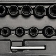 Trusa tubulare CrV 10 bucati 10-19 mm YATO