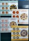 ROMANIA 2007 Ceramica Farfurii taranesti III Blocuri de 6 timbre MNH LP 1774 a, Arta, Nestampilat