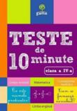 Teste de 10 minute clasa a IV a/***, Gama