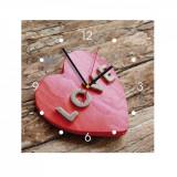 Ceas de perete din MDF - love - My Clock