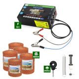 Pachet Gard electric Nexon pentru animale 3,1J putere plus 4500m de fir 90kg