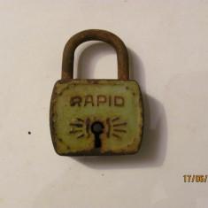 GE - Lacat vechi inchis fara cheie RAPID