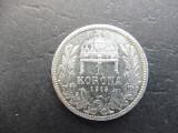 UNGARIA 1 KORONA 1915 (Argint) (17)