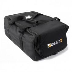 Beamz AC-131, geantă moale pentru transport, stivuibilă, 53x33x21,5 cm (lxÎxA) neagră