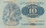 Estonia  10 Krooni P-67  VF
