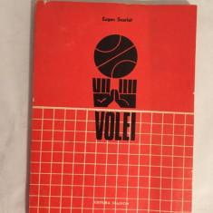 EUGEN SCARLAT - VOLEI , PREGATIREA ECHIPELOR SCOLARE , 1973