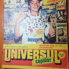 Revista universul copiilor nr. 25-26/ iulie 1992 - numar dublu