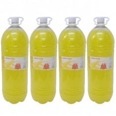 4 x Ava, Sapun lichid, Galben, 3L