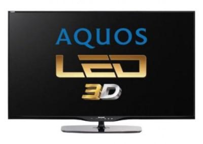 "Televizor LED Sharp 152 cm (60"") LC-60LE651E, Full HD, 3D, Smart TV, Active Motion 200, Dolby Digital Plus foto"