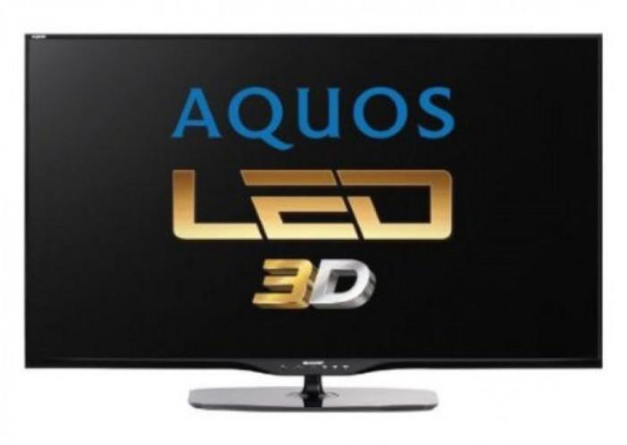"Televizor LED Sharp 152 cm (60"") LC-60LE651E, Full HD, 3D, Smart TV, Active Motion 200, Dolby Digital Plus"