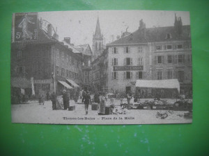 HOPCT 36984  PIATA -THONON LES BAINS   -SERIA FRANTA 1900-1905-NECIRCULATA