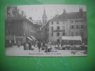 HOPCT 36984  PIATA -THONON LES BAINS   -SERIA FRANTA 1900-1905-NECIRCULATA foto
