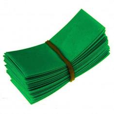 50 Bucăți 72/30mm tuburi PVC termocontractabile pe Culoare Verde