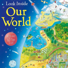 Look inside Our World - Usborne book (4+)