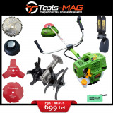 Cumpara ieftin SET OFERTA! Motocoasa PROCRAFT T4350 PRO + accesoriu Prasitoare Cultivator, 4 sisteme de taiere, 6.3 CP, 58 cm